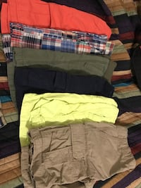 6 pairs of boys size 10 shorts all gap and children's place  Trenton, 08618