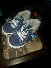 polo booties 6-9M