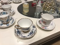 Bone China Teacups (Various) Burlington