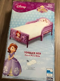Princess Sofia Toddler Bed (new) Calgary, T3K 3Y1