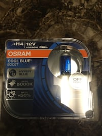 OSRAM Cool Blue Boost H4 Twin Pack East Rutherford, 07073