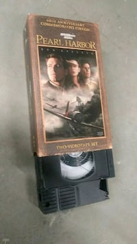 Pearl Harbor - 2 VHS box set Ottawa, K2P 1A4
