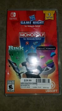 HASBRO GAME NIGHT FOR NINTENDO SWITCH @ BUY AND SELL KINGS (AJAX) Ajax, L1S 3V4