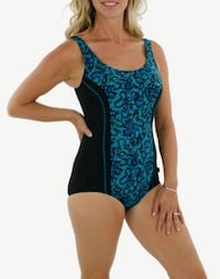 Burano Printed Aqua Tank One Piece by TRY Mississauga, L4W 3L5