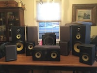 Sony 10 speaker surround sound $ 375 for all or obo.       SILVERSPRING