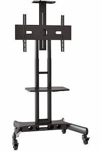 Rolling TV Cart Mobile TV Stand for 40-65 inch Universal Flat Screen Arlington, 22203