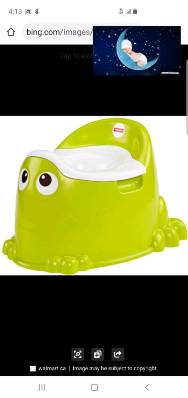 potty training, from Fisher price. Never used. d9c4dd1e-6aa8-444c-b501-e8342356d256