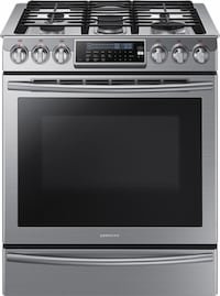 Samsung - Slide-In Gas Convection Range - Stainless steel - NX58H9500WS Yonkers