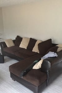 Sectional sofa and love seat