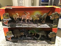 New Dinosaur action 4-pack-2 NEW sets make great gifts   Newburgh, 12550