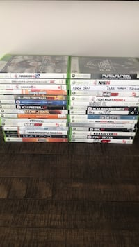 assorted Xbox 360 game cases Airdrie, T4B 3A1