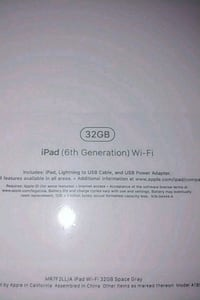 iPad 6th gen 32gb Frederick, 21703