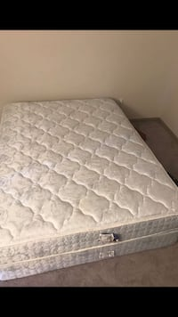 Quilted white and gray floral mattress Raleigh, 27612