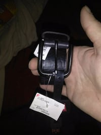 black and gray leather belt Springfield, 01109