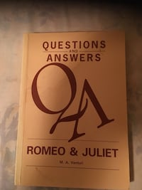 Romeo and Juliet reference. $10 Vaughan, L4J 7R4