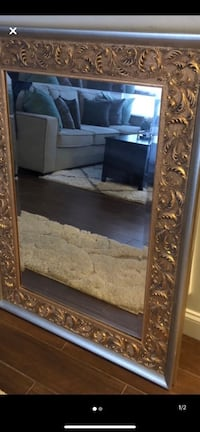 Gold trimmed mirror Olney, 20832