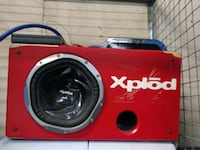 Sony Xplod 1200w subwoofer with Rockville capacitor in Kenwood 600w Cochrane, T4C 0H6