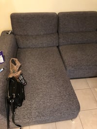 black fabric padded sofa chair Vancouver, V5R 3K6