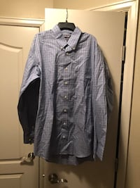 Men's Kirkland signature long sleeve button up shirt Springfield, 22153