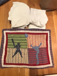 Collegiate Pottery Barn Quilt - Plus Sports Pillow Case & Tommy Hilfiger Sheets Omaha, 68124