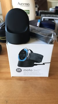 black and blue Samsung Gear S2 with box Gainesville, 20155