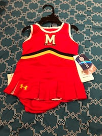 Maryland Terrapins 9-12month girls outfit Falls Church, 22044