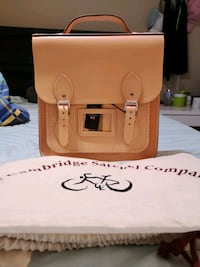 NWT Cambridge Satchel Leather backpack San Jose, 95132