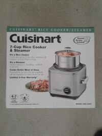 Cuisinart Rice Cooker - Brand New in Box!! Never Used!! Vaughan, ON, Canada