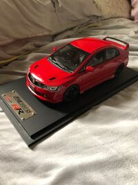 1:18 Honda Civic Mugen RR Model Car New Westminster, V3L 3L5