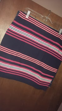 Black, pink, and white stripe textile Omaha, 68138