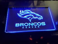 Denver Broncos lighted sign San Antonio, 78211