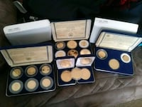 Gold plated coins rare gold coin tribute District Heights, 20747