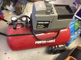 Air Compressor with Air Tank and hose obo