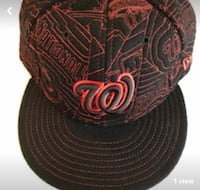 New Era Washington Nationals Fitted Hat  Charles Town, 25414
