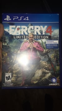 PS4 Farcry 4 game case Silver Spring, 20905