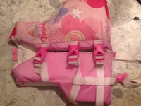 Pink Barbie life jacket Saint John, E2M 1B8