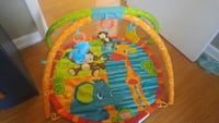 baby's orange activity mat Toronto, M1G 2R2