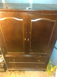 brown wooden cabinet with drawer Albuquerque, 87108