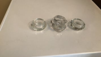 Tea candle holders glass