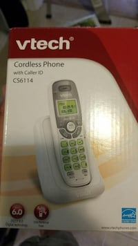 Vtech cordless phone with caller ID box