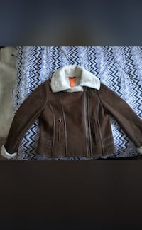 Brown OG bomber jacket  Edmonton, T5T 2C8