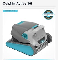 New pool robot dolphin active 30i