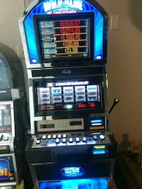 Entertainment slot touch screen