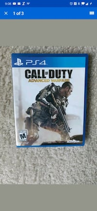 PS4 Call of Duty Advanced Warfare Silver Spring, 20904