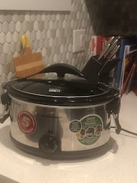Slow cooker, $30