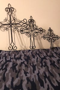 Iron Garden Crosses