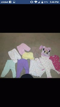 Baby clothes 0 to 9 months Bowling Green, 42101
