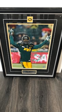 "Edmonton Eskimos/Odell Willis ""Mayor"""