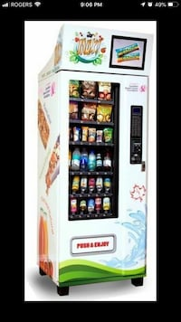 vending machine service Vaughan