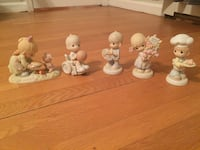Five Precious Moments ceramic figurines Alexandria, 22307